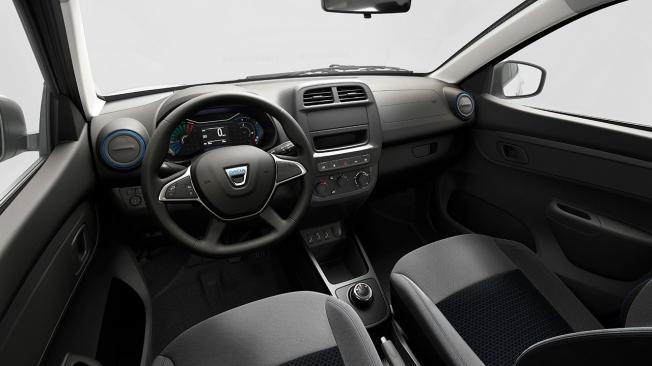 Dacia Spring Cargo - interior