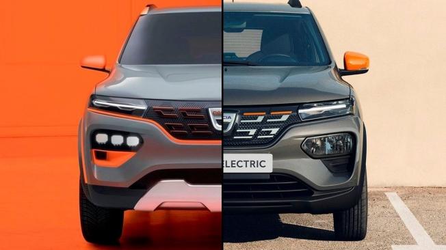 La evolución del diseño del Dacia Spring