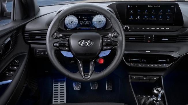 Hyundai i20 N - interior
