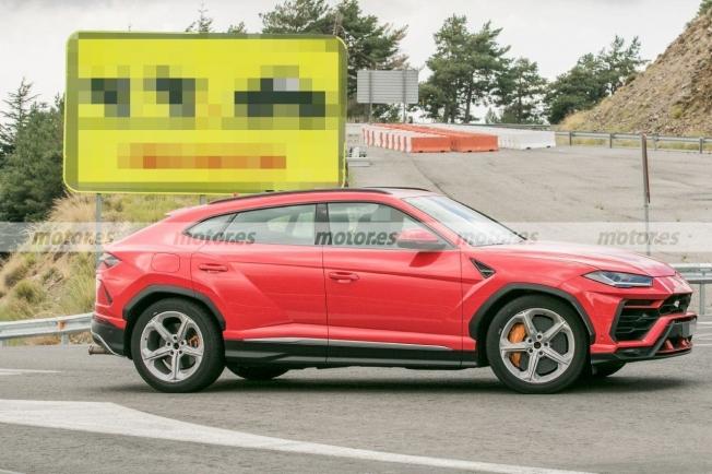 Lamborghini Urus - mula mecánica