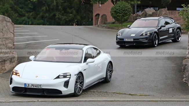 Porsche Taycan Cross Turismo - foto espía