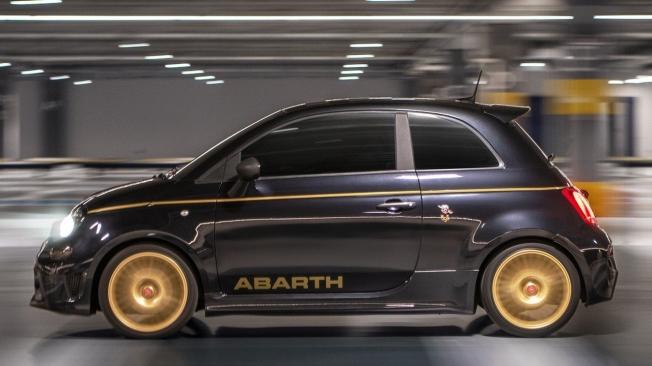 Abarth 595 Scorpioneoro - lateral