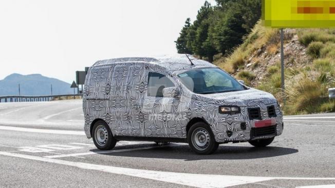 Dacia Dokker 2021 - foto espía