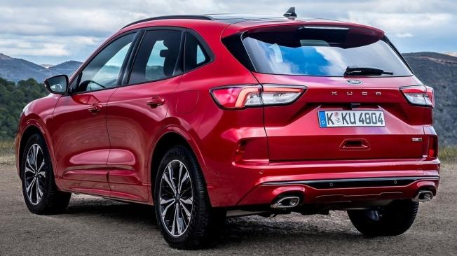 Ford Kuga - posterior