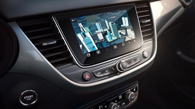 Opel Crossland 2021 - pantalla táctil