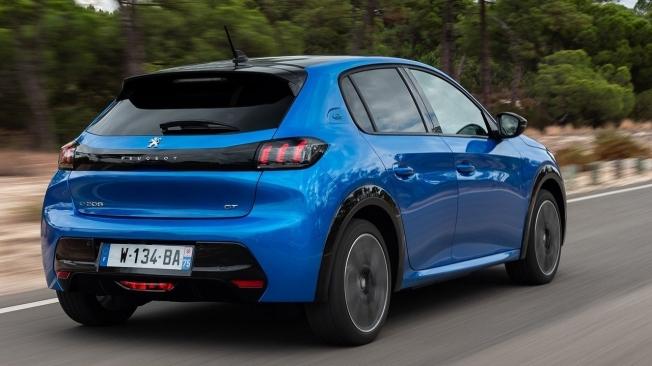 Peugeot e-208 - posterior