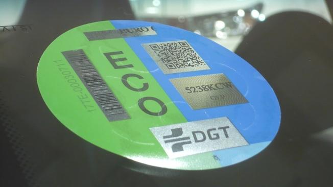 SsangYong Tivoli GLP - distintivo ambiental ECO