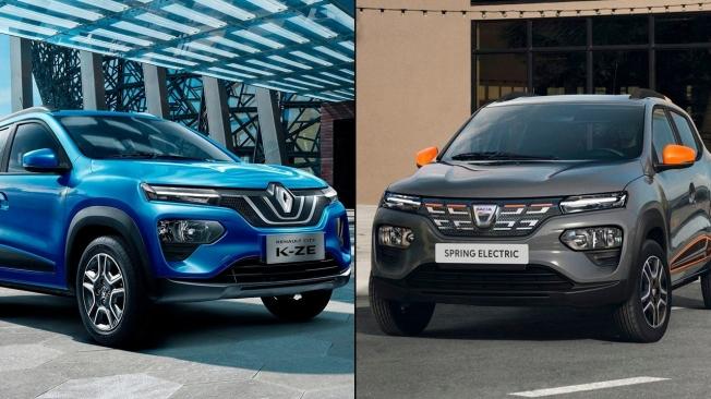 Renault City K-ZE vs Dacia Spring