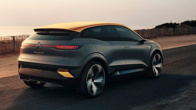 Renault Mégane eVision Concept - posterior