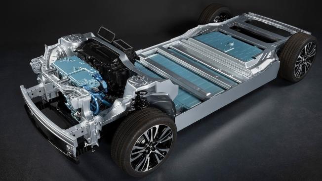 Renault Mégane eVision - plataforma CMF EV
