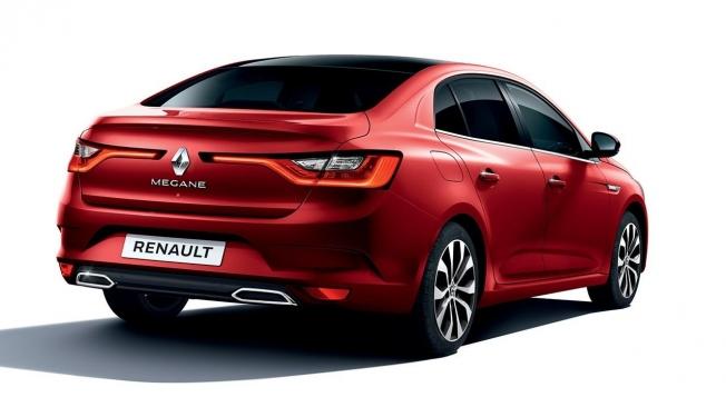 Renault Mégane Sedán 2021 - posterior