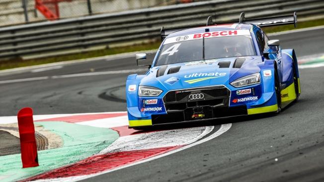 René Rast ya es líder del DTM tras ganar por tercera vez en Zolder