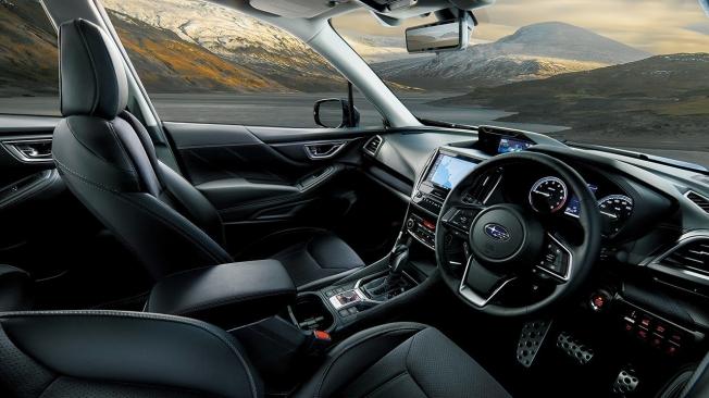 Subaru Forester Sport - interior
