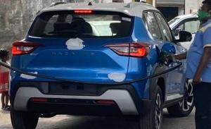 El Nissan Magnite, un nuevo SUV para mercados emergentes, cazado al desnudo