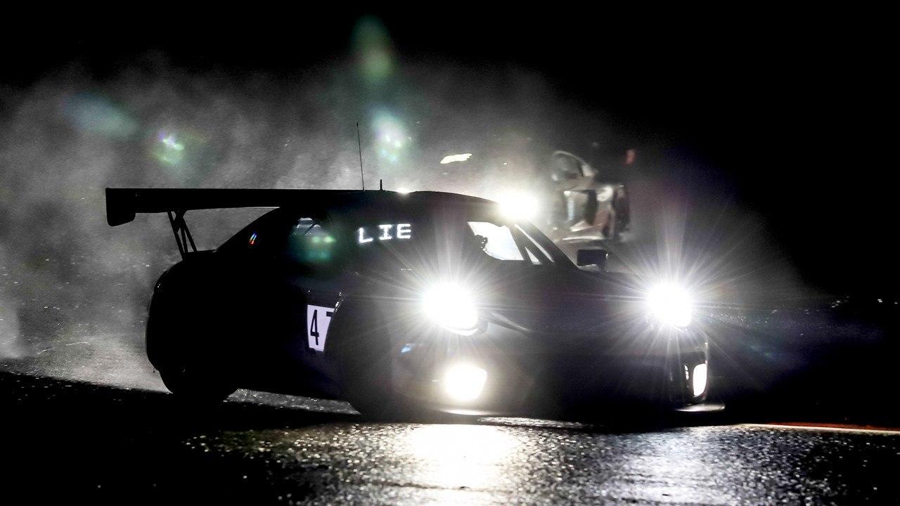 El Porsche #47 de KCMG manda en los libres nocturnos de las 24 Horas de Spa