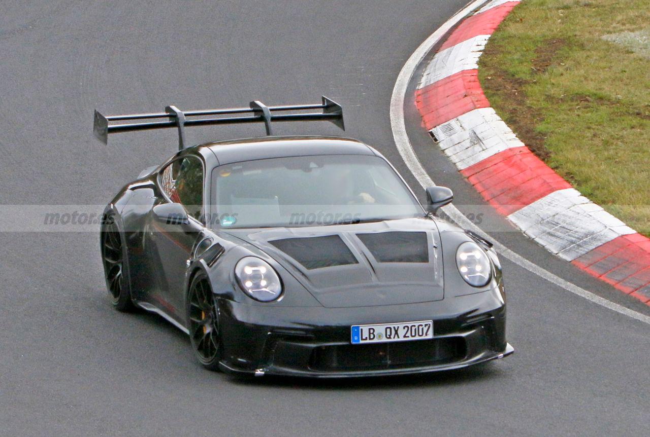 El nuevo Porsche 911 GT3 RS 2022 ya está rodando en Nürburgring
