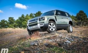 Prueba Land Rover Defender 110 SD4 240 AWD, macho alfa