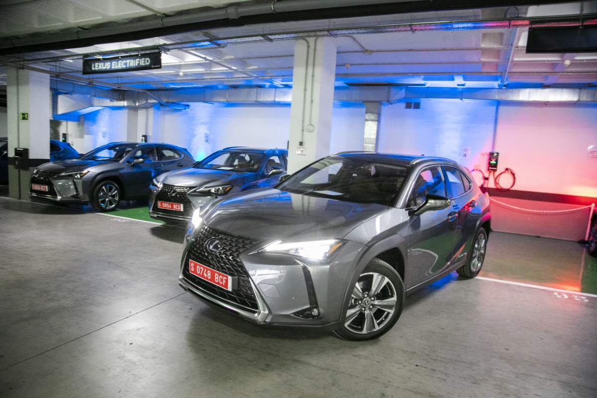 Lexus UX Facelift