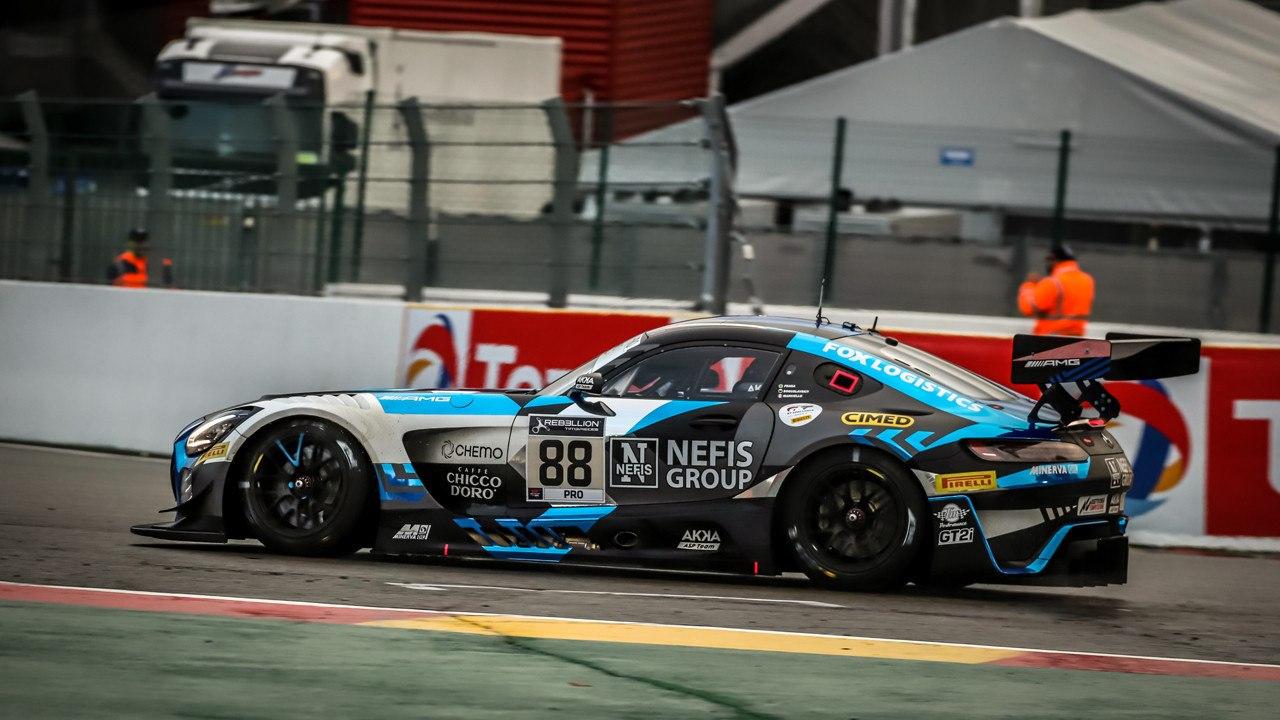 Raffaele Marciello logra la pole de las 24 Horas de Spa con el Mercedes #88