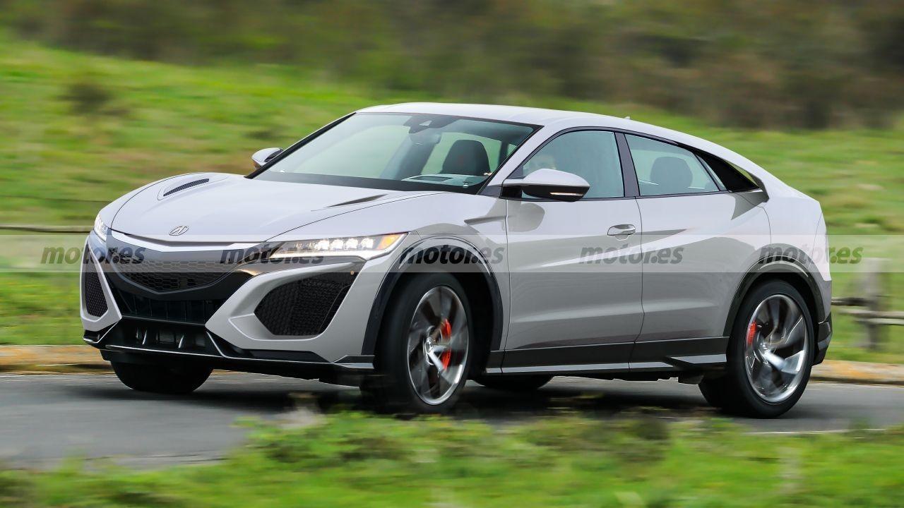 Honda NSX SUV: jugamos con el posible aspecto del futuro crossover deportivo japonés