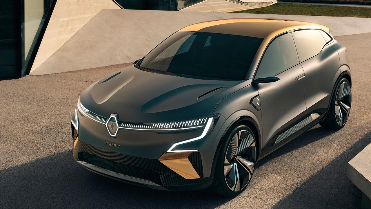 Renault Mégane eVision, la antesala de un nuevo coche eléctrico