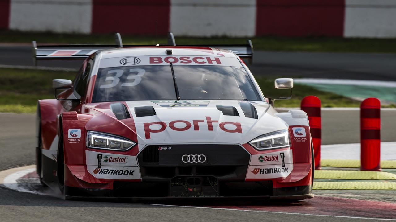 René Rast logra la disputada primera pole del DTM en un Zolder mojado
