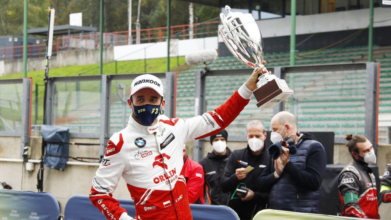 Robert Kubica: «Mi primer podio en el DTM recompensa el trabajo de ART»
