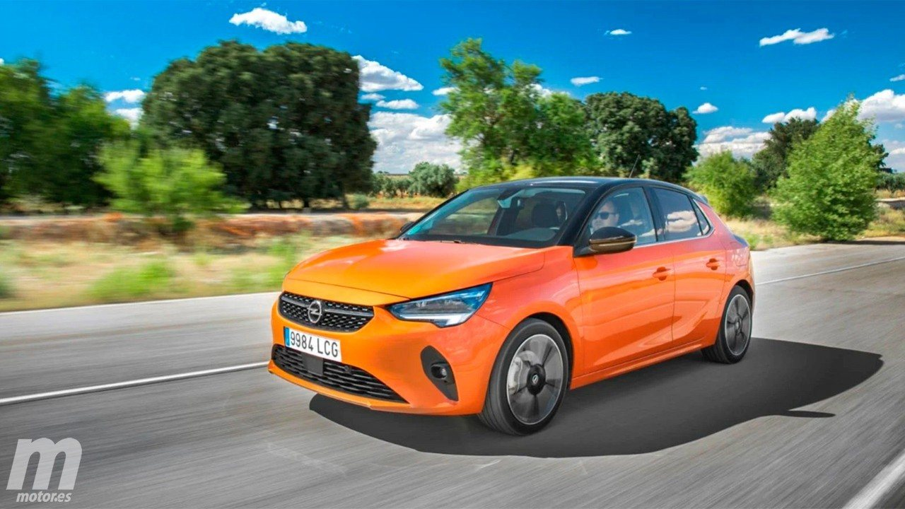 Alemania - Septiembre 2020: El nuevo Opel Corsa destaca en un mercado que crece