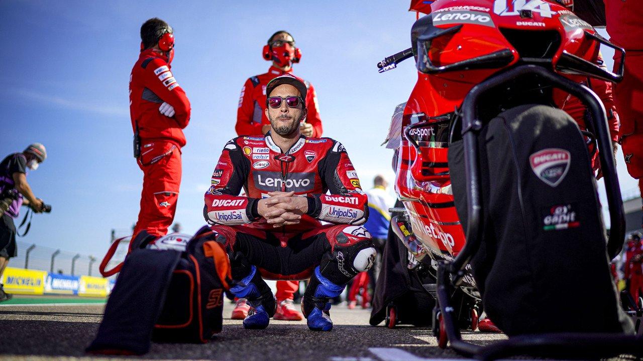 Yamaha quiere tener a Andrea Dovizoso como piloto de pruebas en 2021