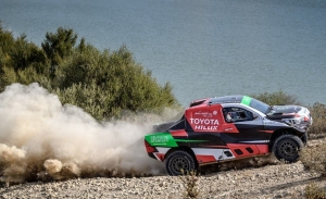 Yazeed Al-Rajhi y Kevin Benavides ganan la primera etapa del Andalucía Rally