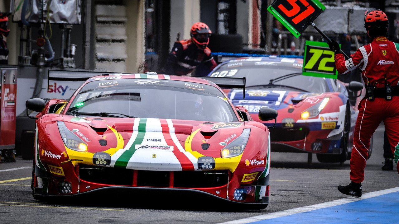 Alessandro Pier Guidi conquista Paul Ricard y gana la GTWC Endurance Cup
