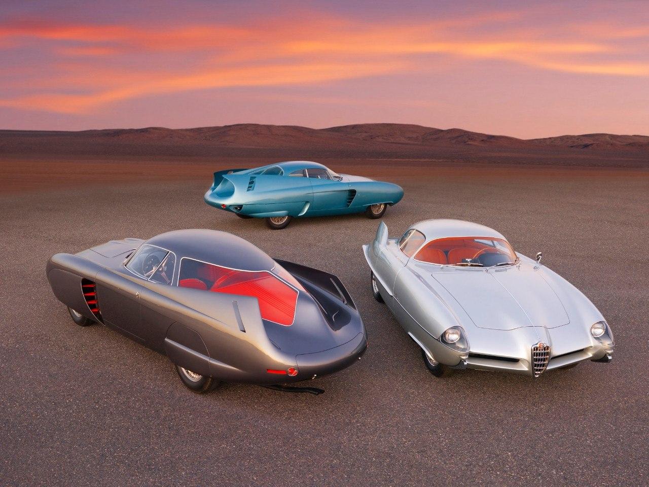 ¿Nuevo récord? Los Alfa Romeo B.A.T. de Bertone vendidos por 14.8 millones de dólares