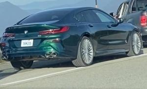 El nuevo Alpina B8 Gran Coupé 2021, al destapado en unas fotos espía