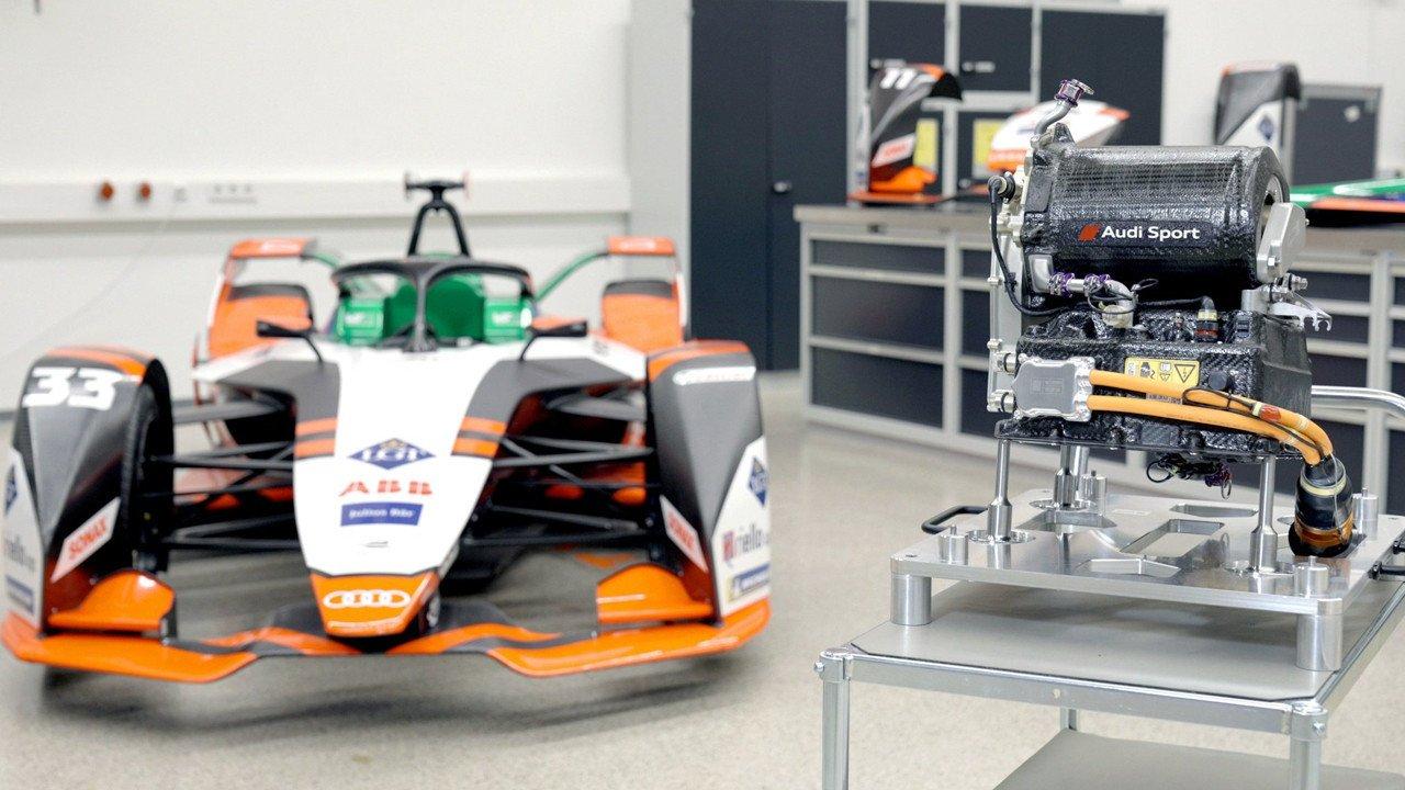El Audi e-tron FE07 quiera reinar en Fórmula E con un nuevo tren motriz