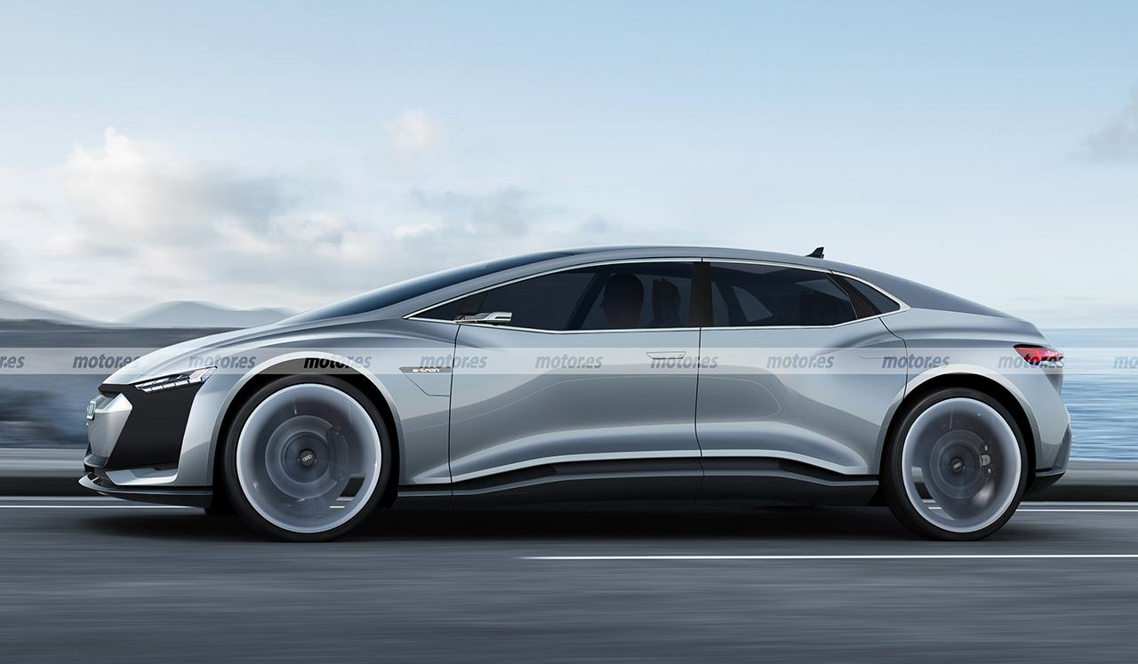 Recreación ilustrativa Audi Landjet 2025