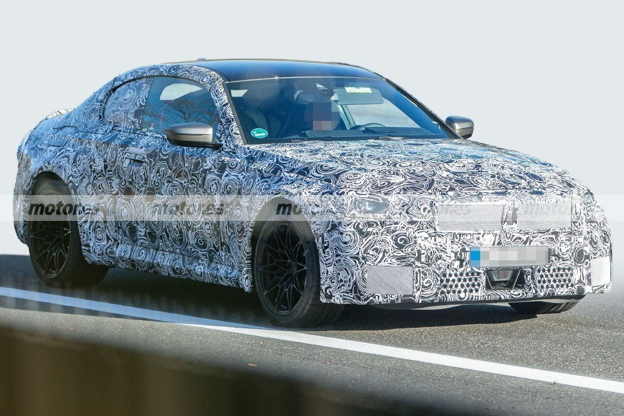 Cazado el nuevo BMW M2 2023, primeras fotos espía del nuevo deportivo compacto