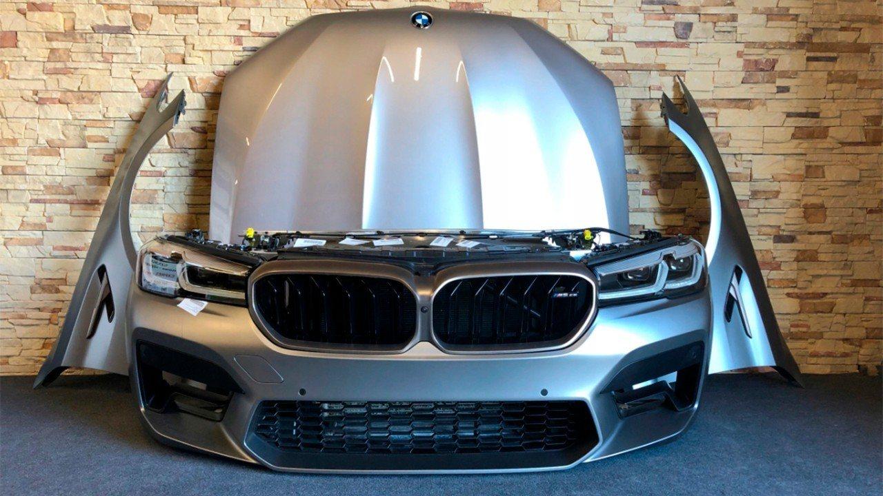Esta filtración deja el diseño del nuevo BMW M5 CS al descubierto