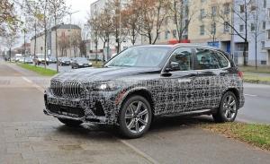 Este supuesto BMW X5 Facelift es la mula del nuevo conjunto híbrido enchufable M50e