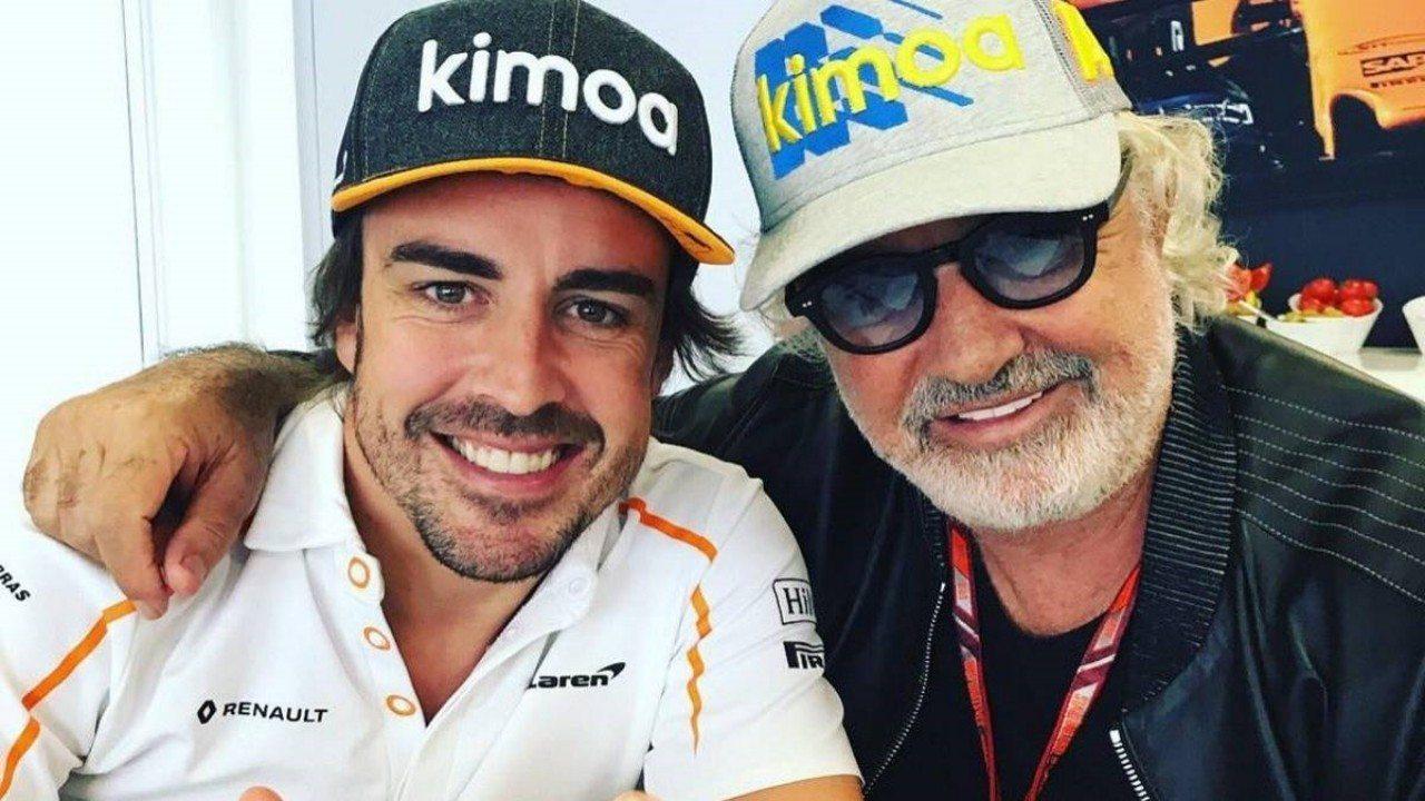 Briatore y el retorno de Alonso: «Es increíble, creo que no he visto nada parecido»