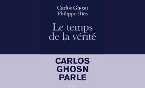 Carlos Ghosn presenta su libro bomba, «La hora de la verdad»