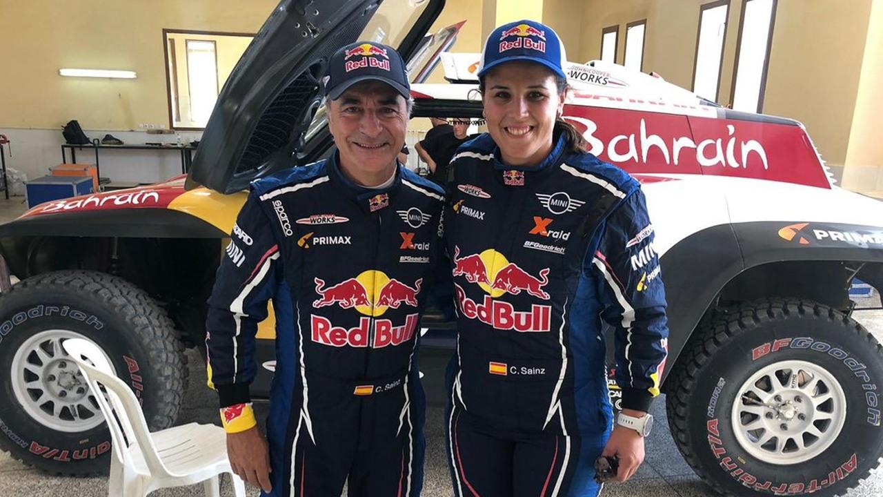 Carlos Sainz y Laia Sanz competirán con QEV Acciona en Extreme E