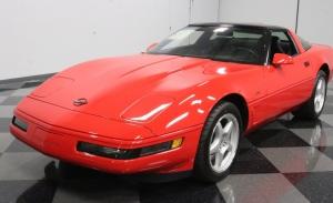 Aparece un Chevrolet Corvette ZR1 1995 sorprendentemente impecable y a estrenar