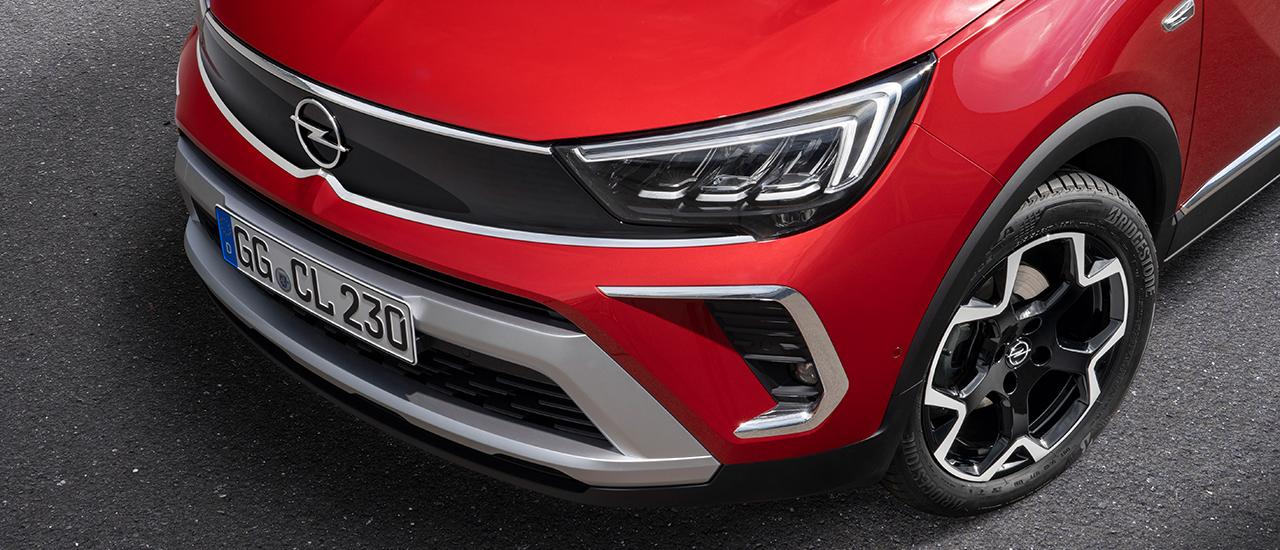 Prueba Opel Crossland 2021, sacando el carácter