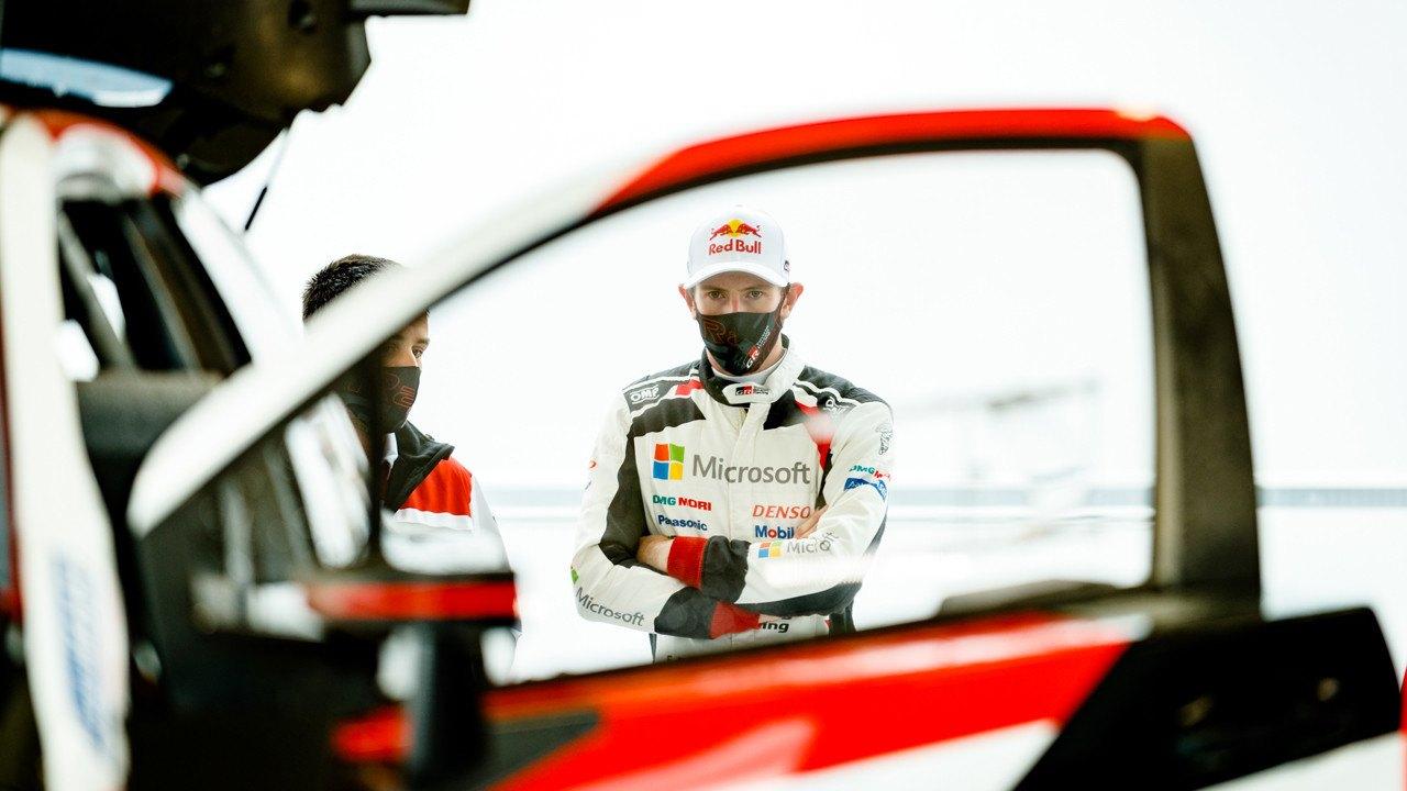 Elfyn Evans no se distrae: «Estoy centrado en preparar el Rally de Monza»