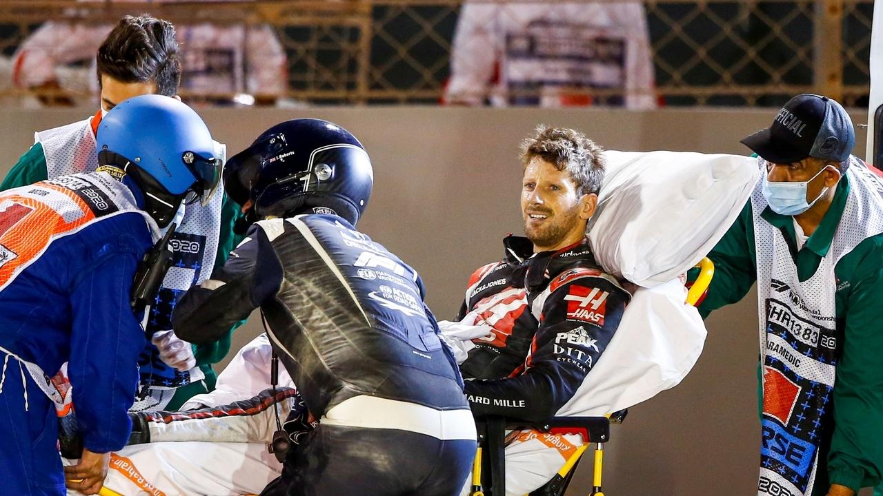La F1 se defiende de las críticas de Ricciardo tras la emisión del accidente de Grosjean