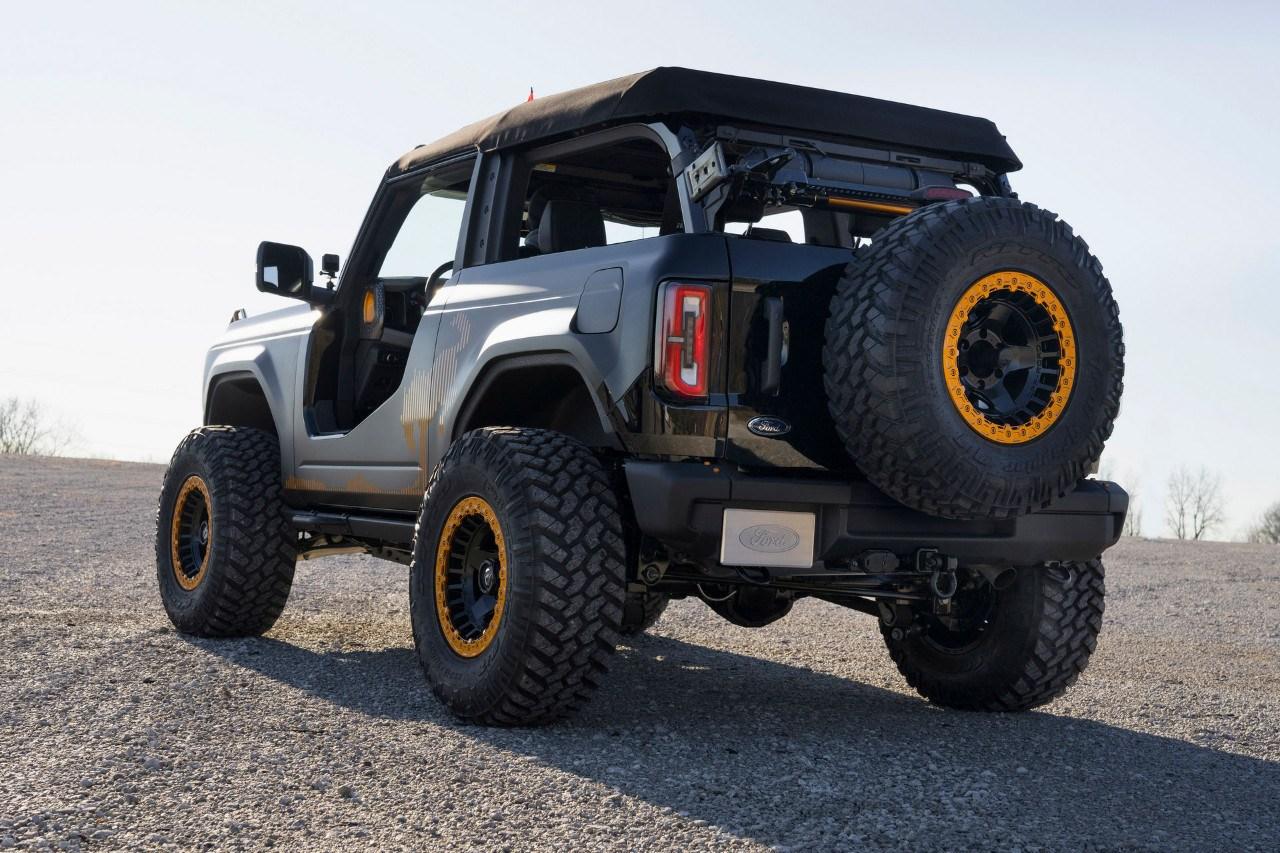 Los espectaculares Ford Bronco y Bronco Sport Badlands de las 'Ford Auto Nights'