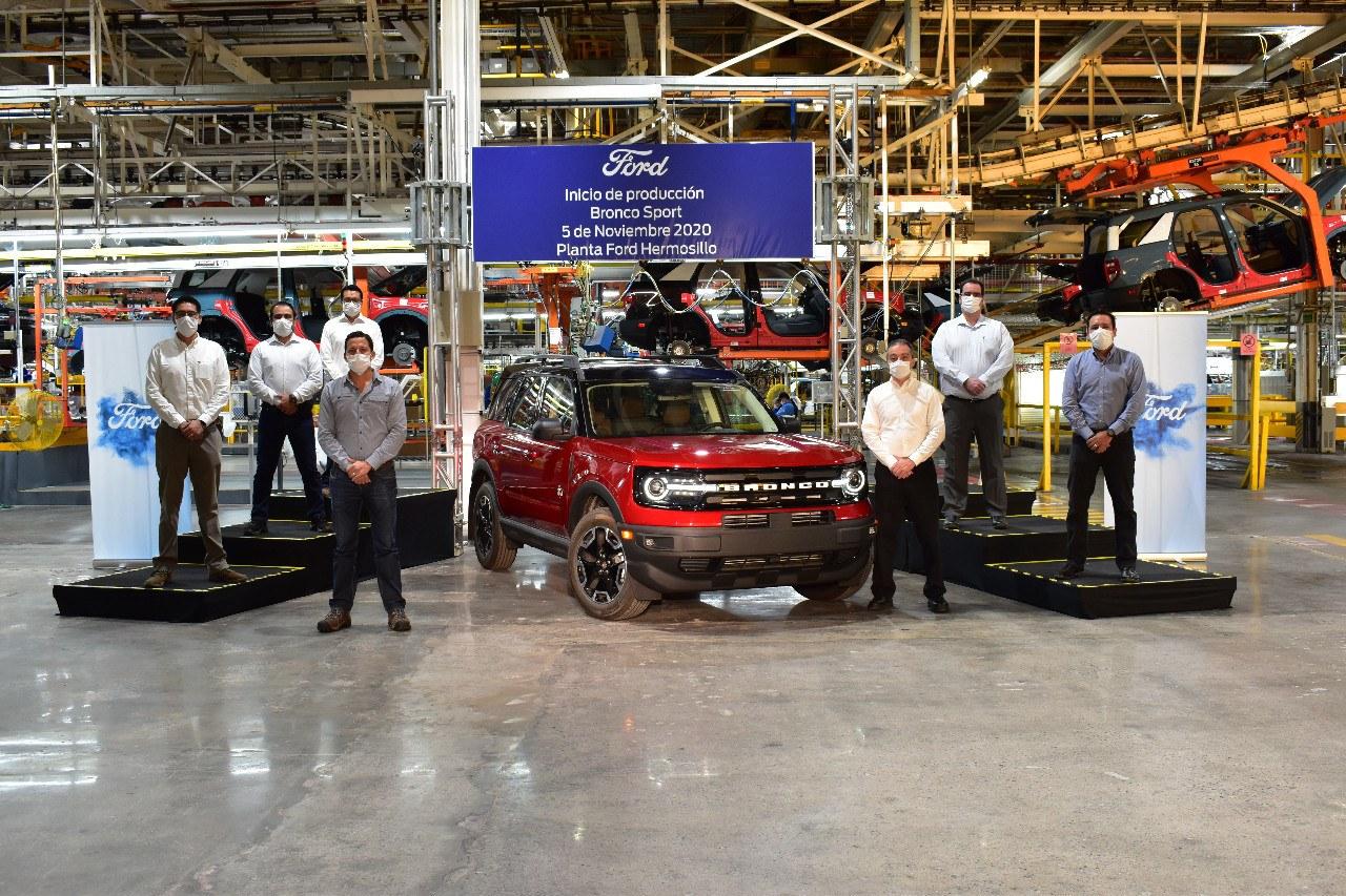 El nuevo Ford Bronco Sport comienza su producción poco antes que el Bronco 4x4