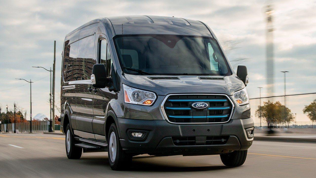 Ford E-Transit, una nueva furgoneta eléctrica con hasta 350 km de autonomía
