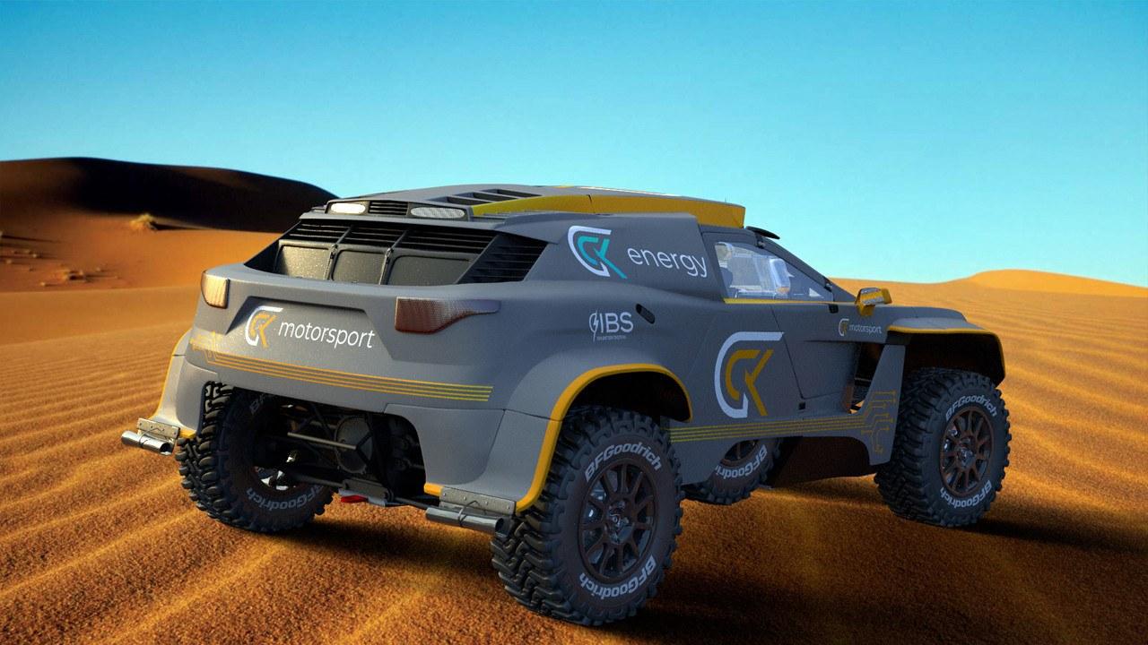 GCK e-Blast 1: el hidrógeno llama a las puertas del Rally Dakar
