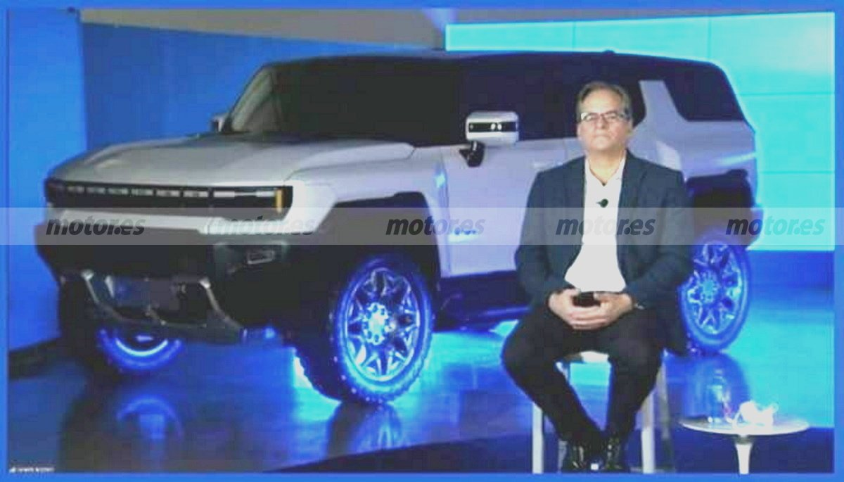 ¡Filtrado! Primera imagen del futuro GMC Hummer EV con carrocería SUV